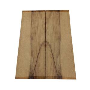 Basso carved top black limba