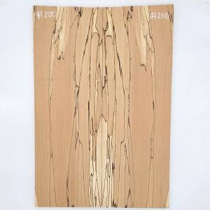 Faggio spalted basso carved top